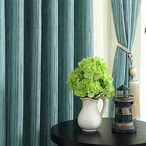 Gardinen,Moderne Wohnzimmer Schlafzimmer Vorhänge drapiert ein solide Farbton-A 300x270cm(118x106inch)