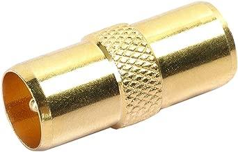 Digiflex TV Aerial RF Coax Cable Lead Adaptor Male to Male