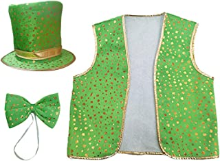 Green S Patrizio cravatta elastico irlanda irish Costume Accessorio