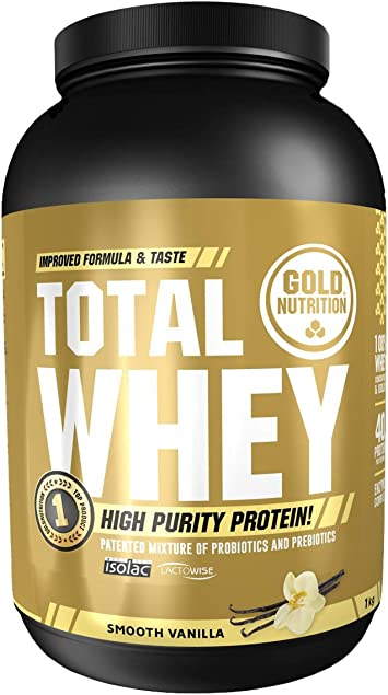 GoldNutrition Total Whey Proteína, Capuccino - 2000 gr