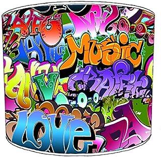 Premier Lighting 12 inch Graffiti Street Art Abat-jour9 pour Un plafonnier