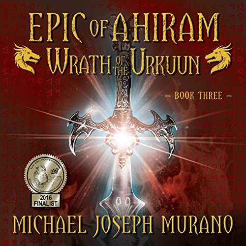 Wrath of the Urkuun audiobook cover art