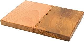 """Tabla de cortar de cocina""""LIVARY"""" cm. 26x19 rectangular y rústico ideal para frutas, verduras y carnes"""