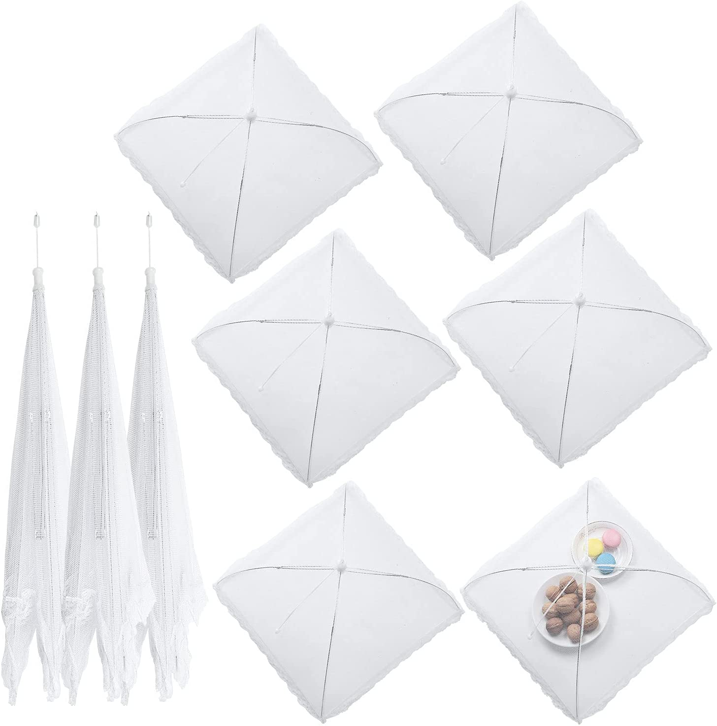 Dallas Mall Food Covers Set of 8 in Special price 14 17 Sizes inch and 2