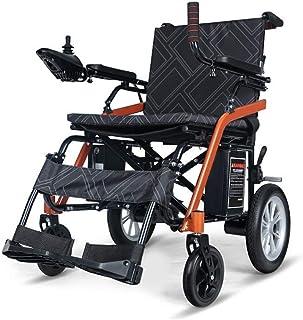 Inicio Accesorios Ancianos Discapacitados Silla de ruedas eléctrica plegable Batería de litio 360 grados Joystick Capacidad de peso 100Kg Ancho del asiento 44Cm Sillas de ruedas motorizadas Sillas