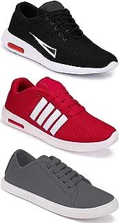 Bersache Combo Pack of 3,Sports Running Shoe for Men