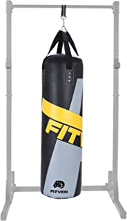 FITVEN Heavy Bag for Adults Kids, Indoor/Garden Punching Bag, Boxing Bag for MMA, Kickboxing, and Muay Thai - 50LB