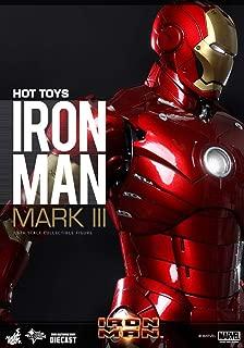 Toy sapiens limited edition bonus accessories with movie masterpiece DIECAST iron man iron man-Mark 3 1 / 6 scale die-cast action figure