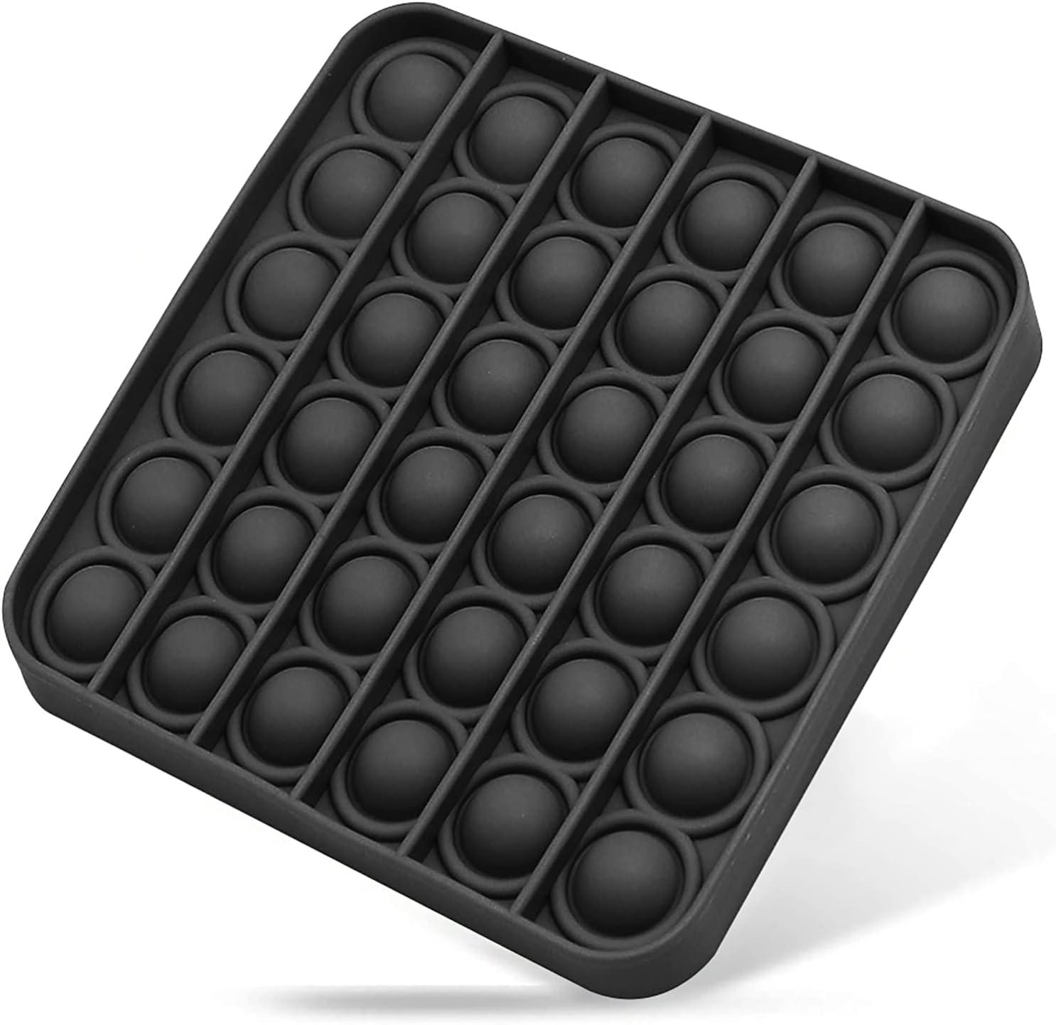 WZQWZQ Bubbles Pop Fidget Sensory Toy, a Quiet Side and a Loud S