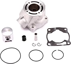 Yamaha YZ80 YZ85 Cylinder Piston Gasket Kit Bore 47.5mm ATV Direct Replacement