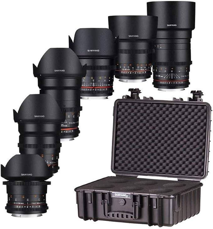 Samyang Vdslr Objektiv Kit Für Canon Ef Mount Mount Kamera