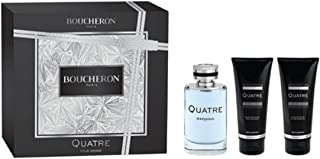 BOUCHERON Quatre for Men Eu De Toilette 100 ml + 100 ml Asb + 100 ml All Over Sg Set
