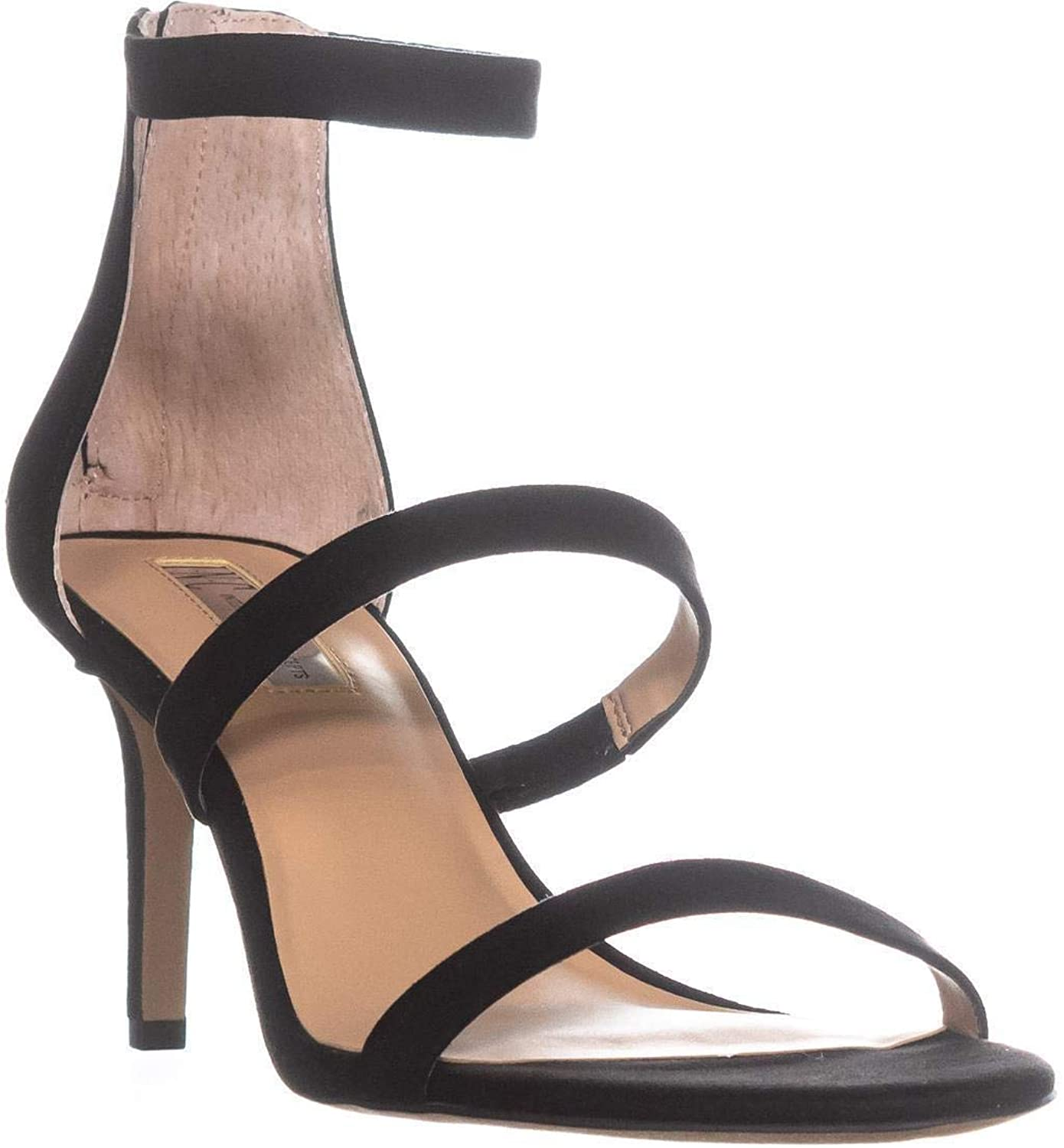 INC International Concepts Womens Lavonn Open Toe Special Occasion Ankle Stra.