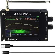 SDR 受信機、50K〜2000MHz Malahit DSP SDRラジオレシーバー、3.5inchマラカイトSDR HAM短波レシーバーアルミニウム合金