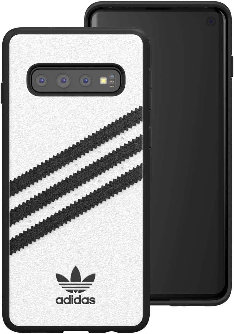 adidas OR Moulded case PU SS19 for Galaxy S10+, White