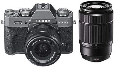 $1298 » Fujifilm X-T30 Mirrorless Camera with XC 15-45mm f/3.5-5.6 OIS PZ Lens, Charcoal Silver XC 50-230mm (76-350mm) F4.5-6.7 OI...