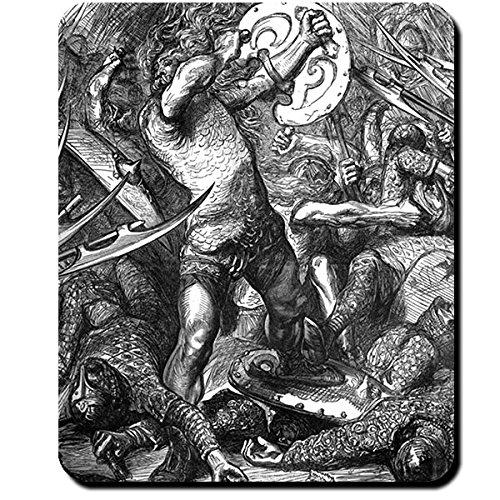 Hereward the Wake Englischer Krieger Wiederstandskämpfer Legende Mythos Saga Kampf gegen Normannen - Mauspad Mousepad Computer Laptop PC #16240