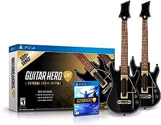 Guitar Hero Live Supreme Party Edition 2 Pack Bundle - PlayStation 4