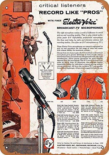Lorenzo Broadcast-Tv Microfoons Vintage Metalen IJzeren Schilderen Plaque Poster Waarschuwingsbord Woonkamer Cafe Bar Beer Club Party Kerstmis Bruiloft Decoratie