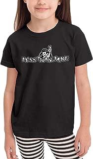 Kemeicle Kid Less Than Jake Logo Girl's&Boy's Crew Neck Short Sleeves T Shirts