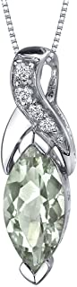 Best green amethyst pendant necklace Reviews