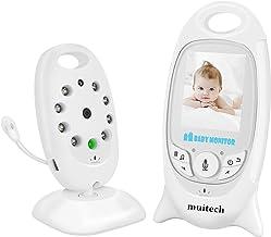 Monitor de bebé, GLURIZ Monitor Bebé inalámbrico