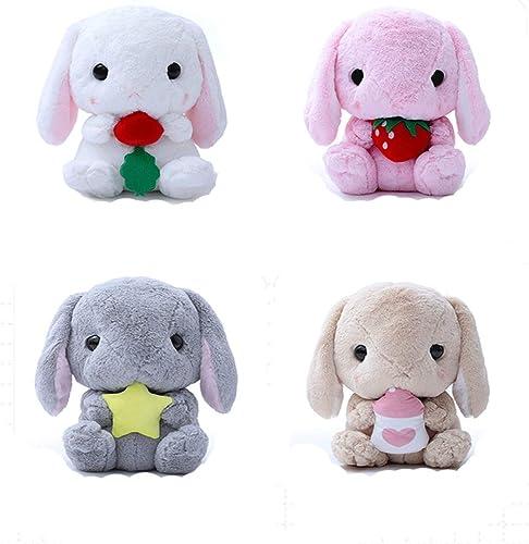 Web oficial Hengtongtongxun Juguete de Felpa, Almohada de Conejo Lindo, Conejo Conejo Conejo de Peluche blanco, muñeca de Conejo Lop, muñeca de muñeca, 45   65cm, últimos Modelos  compras en linea