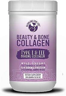 Beauty & Bone Marine Collagen | 8 Essential Amino Acids | 9 Grams Protein | 30 Day Supply