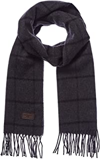 Men's Cashmere Scarf – 100% Italian Cashmere, 72 inches x 12 inches, by Hickey Freeman