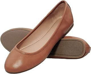 festooning Women's BalletFlats, Classy Casual Slip-on Flat Shoes for Ladies,Memory Foam Round Toe Comfort Walking Shoes