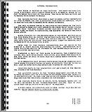 Massey Ferguson 40 Industrial Tractor Parts Manual