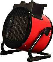 XIANGAI Calefactor Calentadores eléctricos de 2 kW Calentador de Ventilador Industrial Ajustable con Invernadero termostato for Garaje Taller Shed Flota