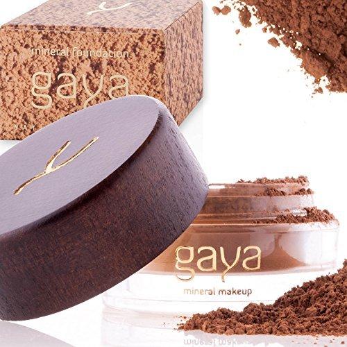 Base Maquillaje Mineral y Vegana - En Polvos, Única 4 en 1 - Completo y con Protector Solar UV, 100% Natural Y Multiuso Todo Tipo De Piel