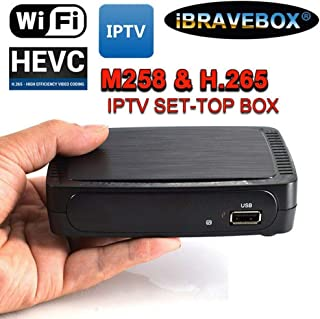 MeterMall Accessories IBRAVEBOX M258 H.265 IPTV Smart Set-top Box for Stalker Faster MAG250/254 EU Plug Electronics etc etcselectronic