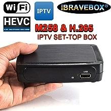 $34 » MeterMall IBRAVEBOX M258 H.265 IPTV Smart Set-top Box for Stalker Faster MAG250/254 EU Plug Electronics