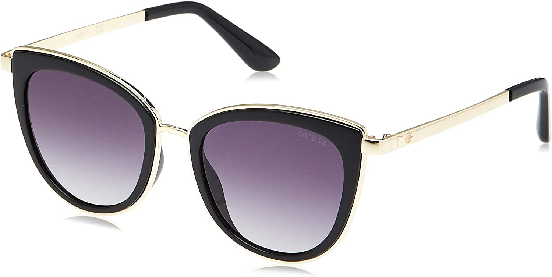 Guess Sonnenbrille (GU7491) Noir (Nero Lucido/Fumo Grad)