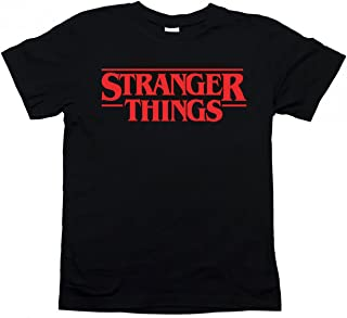 Tshirteria Italiana Maglietta t-Shirt Stranger Things Serie TV - Taglie Uomo Donna Bambino