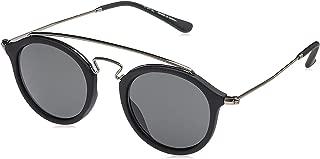 TFL Unisex Round Sunglasses - Grey Lens, 25350