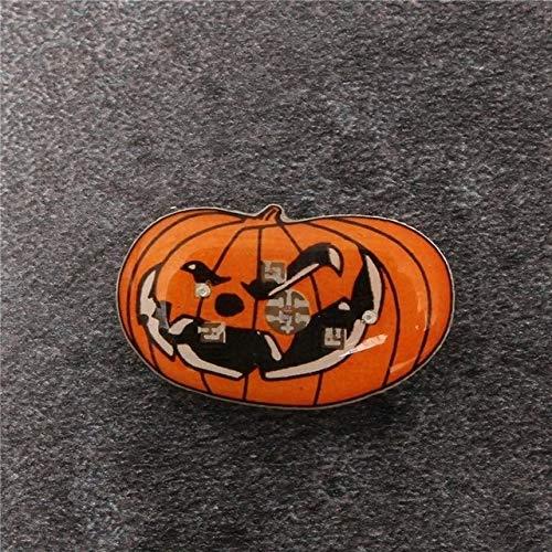 Gather together F 30#Halloween Decoration Atmosphere Night Lamp Festival Decoration Ornament Pendant Halloween Pumpkin Ghost Led Light Ornament