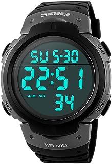 key of time black dial titanium men's watch