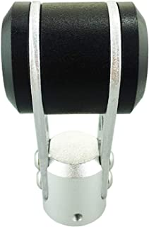 Abfer Gear Shifter Stick Personal Shifting Head Shift Knob Fit Car Manual Automatic Transmission (Black)