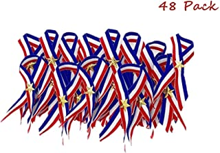 Best red white and blue ribbon pin Reviews