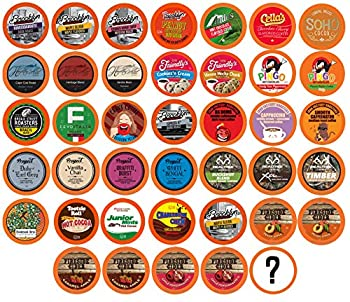 Two Rivers Coffee Tea Cocoa Cider Cappuccino Variety Sampler Pack Compatible with 2.0 Keurig K-Cup Brewers Perfect Gift Bit of Everything 40 count