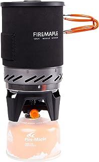 Fire-Maple Fixed Star 1 Réchaud de Camping à Gaz Support de Bouteille de Propane Idéal pour Sac à Dos, Camping Système de ...