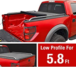 MaxMate Low Profile Soft Roll Up Truck Bed Tonneau Cover for 2014-2019 Chevy Silverado/GMC Sierra 1500 | Fleetside 5.8' Bed | for Models Without Utility Track System