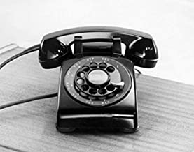 Close-up of a rotary phone Poster Print (24 x 36)