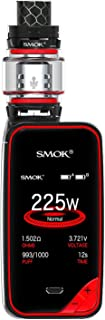 Auténtico SMOK X Priv Kit E iniciador de cigarrillos 225W TFV12 Prince Tank 8ml Sin nicotina sin humo de aceite (Black Red)