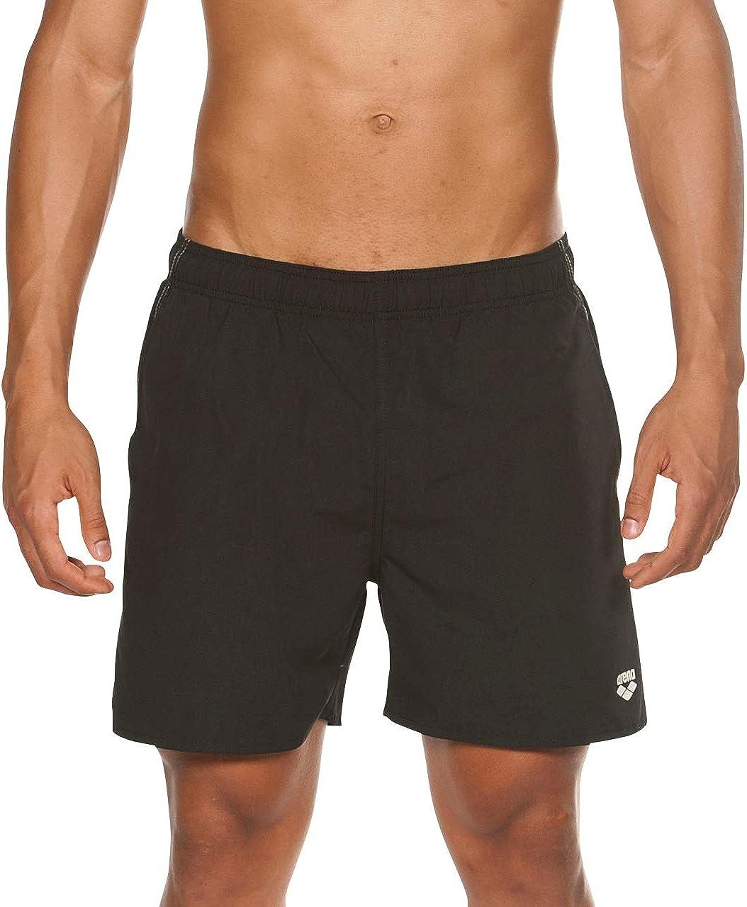 Arena Men's Max 58% OFF Fundamentals Japan's largest assortment Boxer Swimsuit Short Swim Trunks