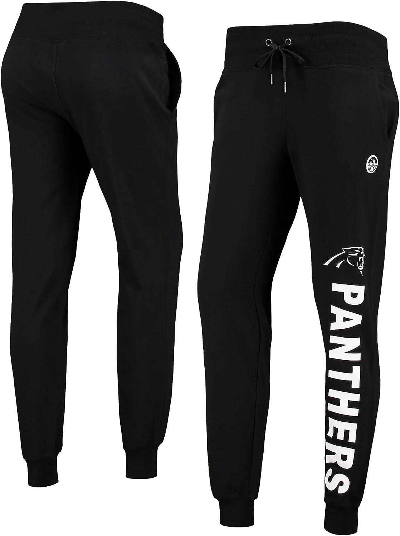 DKNY Women's Black Carolina Panthers Anna Jogger Pants