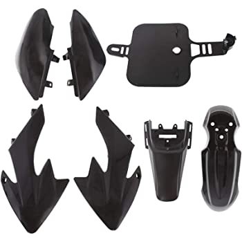 labwork Plastic Fender Fairing Kit set Replacement for Honda XR50 CRF50 SDG SSR 107 125 Dirt Pit Bike